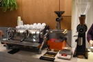 This begins with the EK-43 which does all the grinding for filter and espresso.
