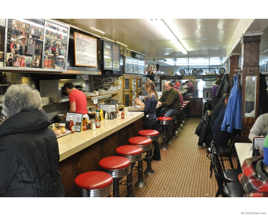 Next is Charlie's Sandwich Shoppe, still one of the best places for breakfast in the whole world!