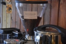 ... where you'll also find the decaf (from Gatehouse Coffee Roasters).