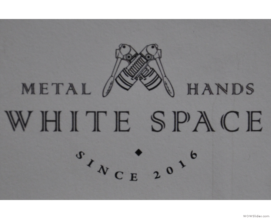 That said, this is actually where you are: Metal Hands White Space.