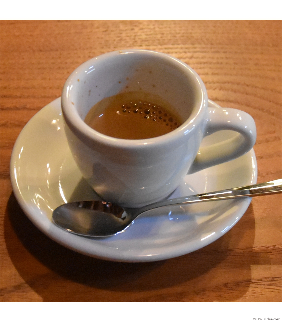 & Espresso, a gorgeous coffee shop in the mountains of Japan in the town of Tomi.