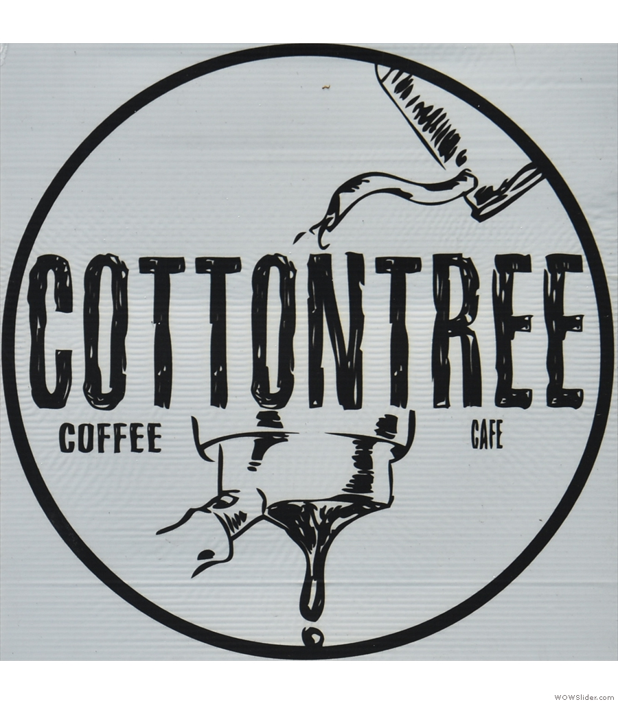 Cottontree Coffee Roasters, down a dead-end road in a residential area in Chiang Mai.