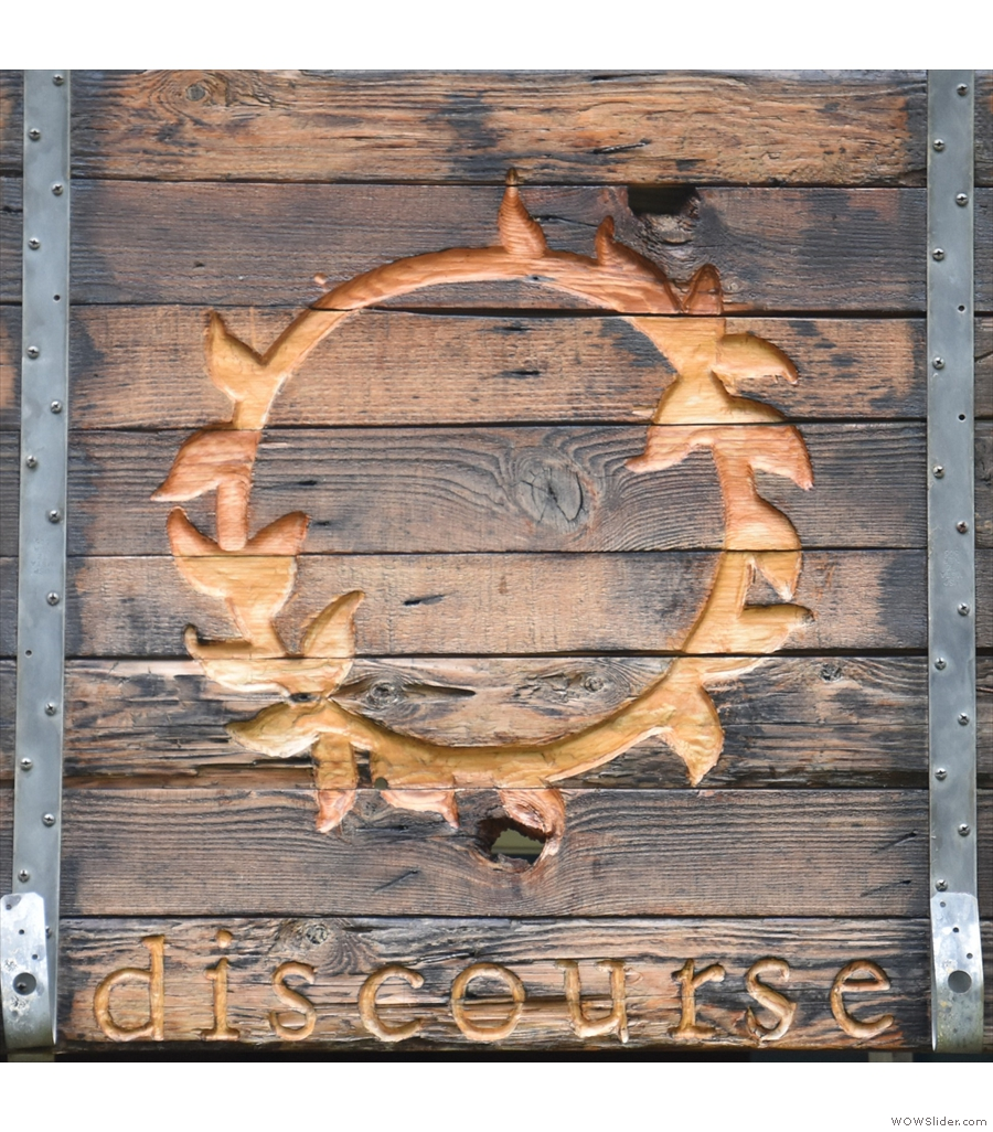 Discourse Coffee, a totally unexpected gem in the heart of Door County, Wisconsin.