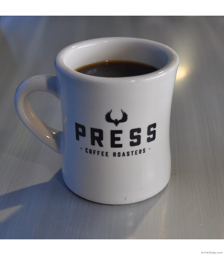 Press Coffee, Skywater Apartments: coffee shops in apartment blocks are still too rare.