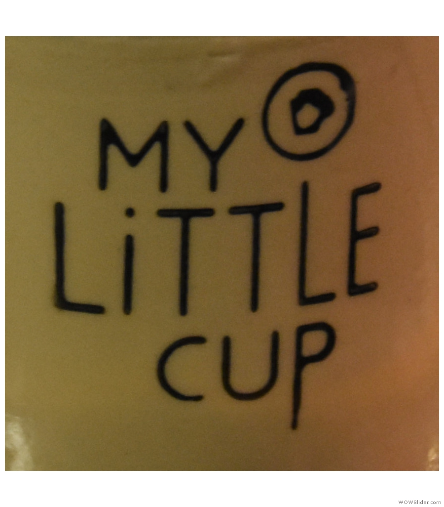 My Little Cup, tucked away in Montreal's Underground city next to McGill metro station.