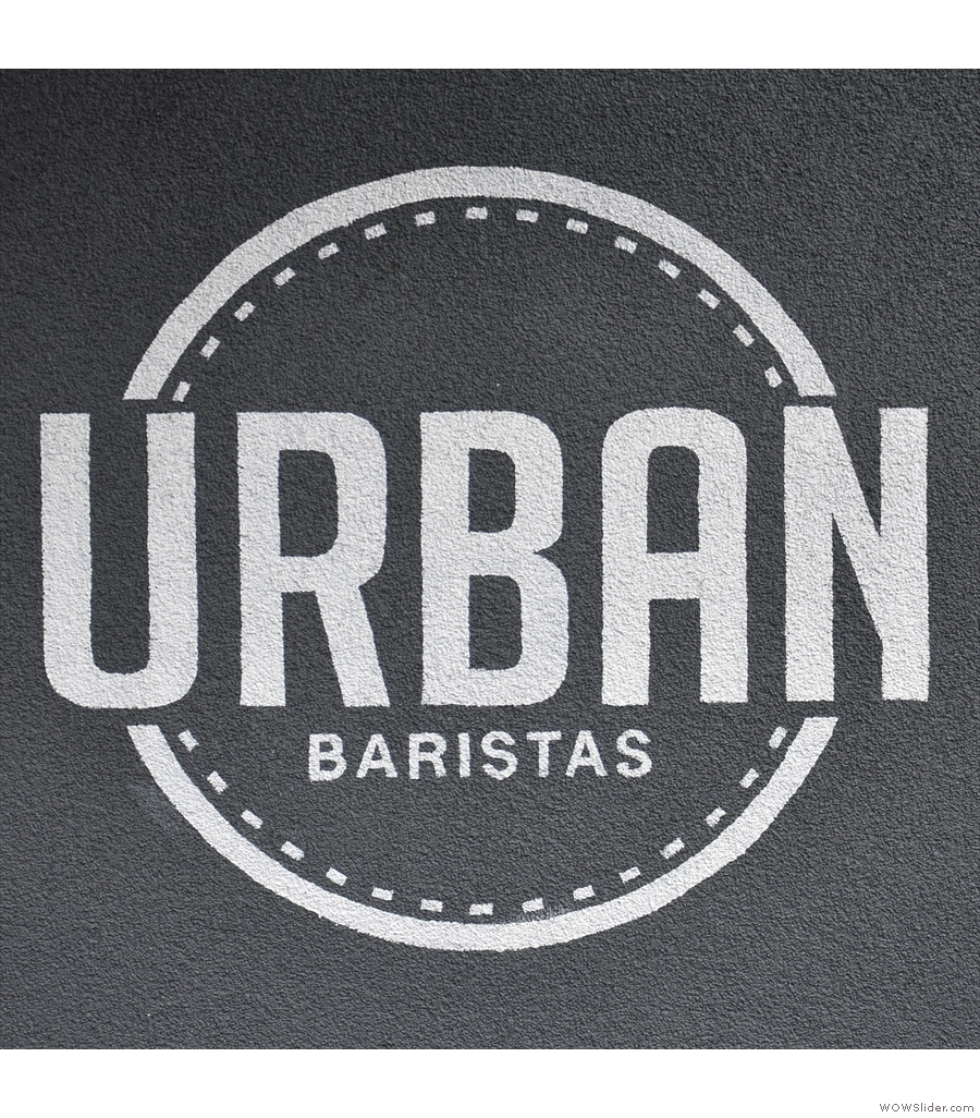 Urban Baristas, just across the road from London's Waterloo station.