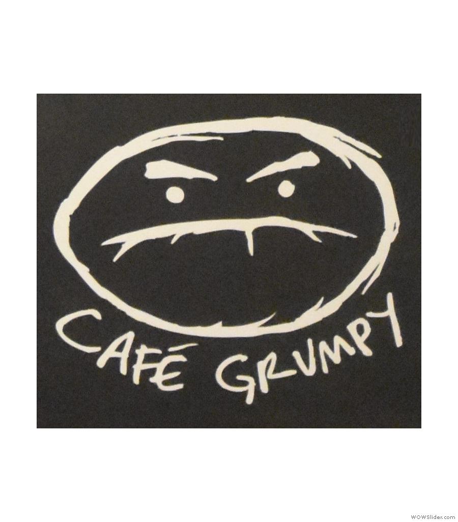 Cafe Grumpy, Nolita, serving a rare Yellow Bourbon variety from El Salvador.