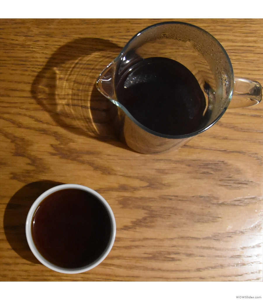 Lowdown Coffee, serving a gorgeous, rich, well-rounded washed Kenyan.