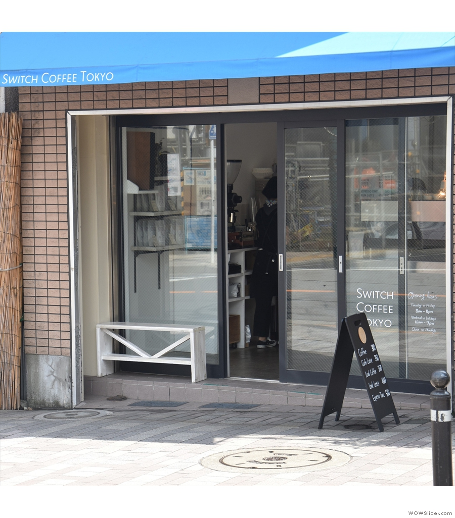 Staying in Tokyo, Switch Coffee is across the road from Yoyogi-Hachiman station...