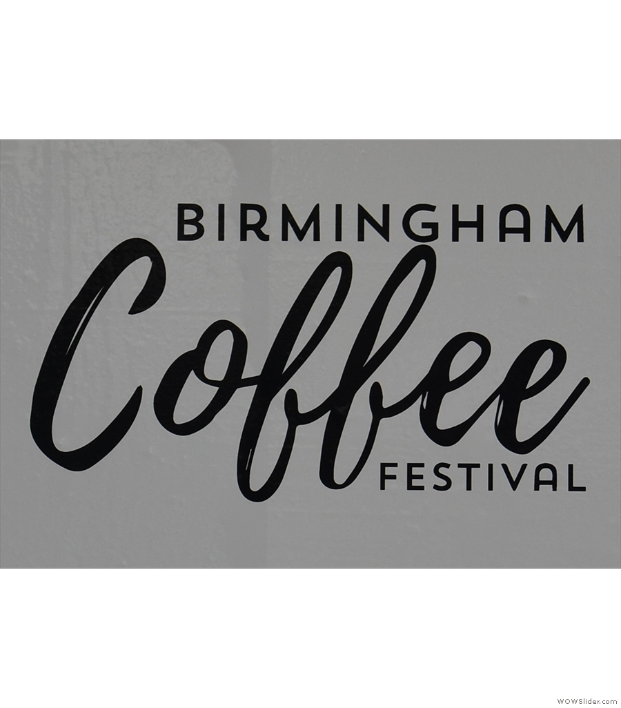 My first ever Birmingham Coffee Festival!