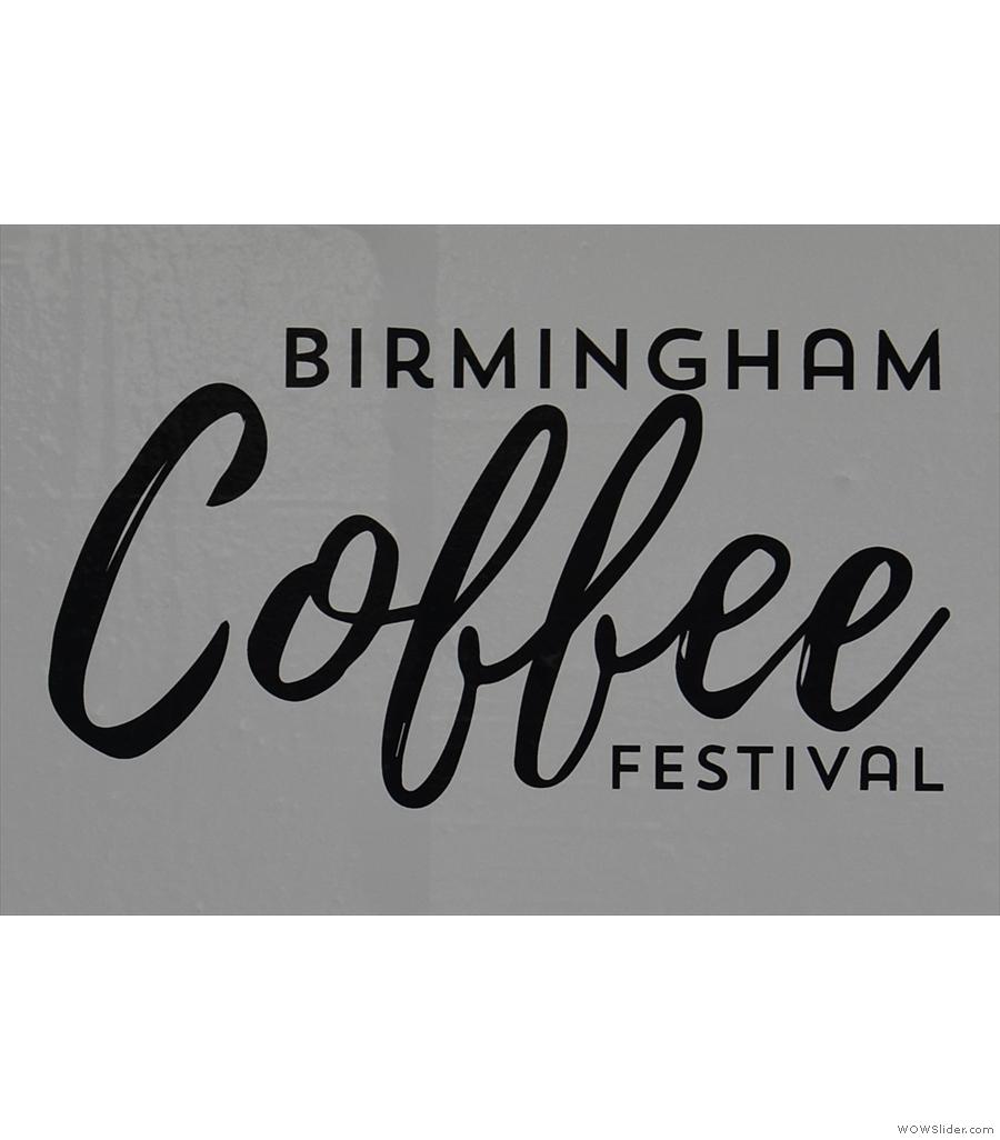 My first ever Birmingham Coffee Festival!
