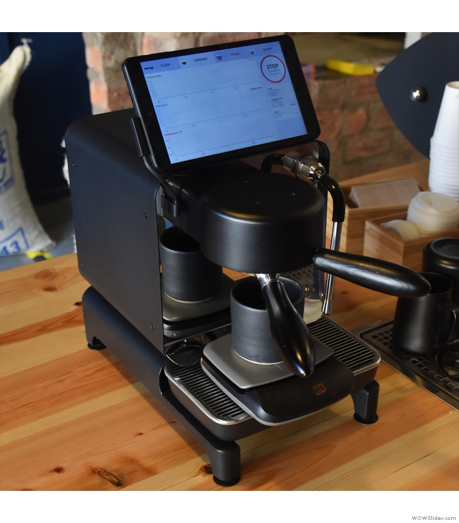 Decent Espresso, a home espresso machine for the coffee geek.