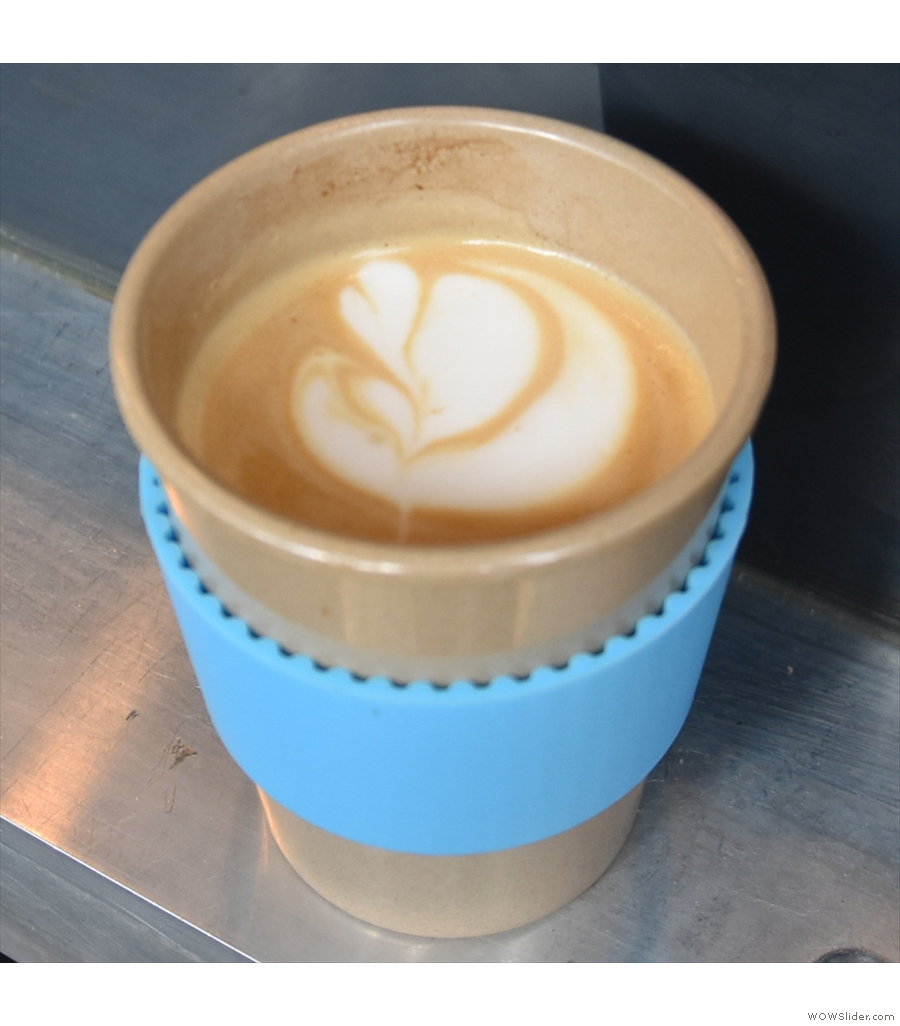 Speciality Coffee at Lord's, raising the bar for all other sporting events.