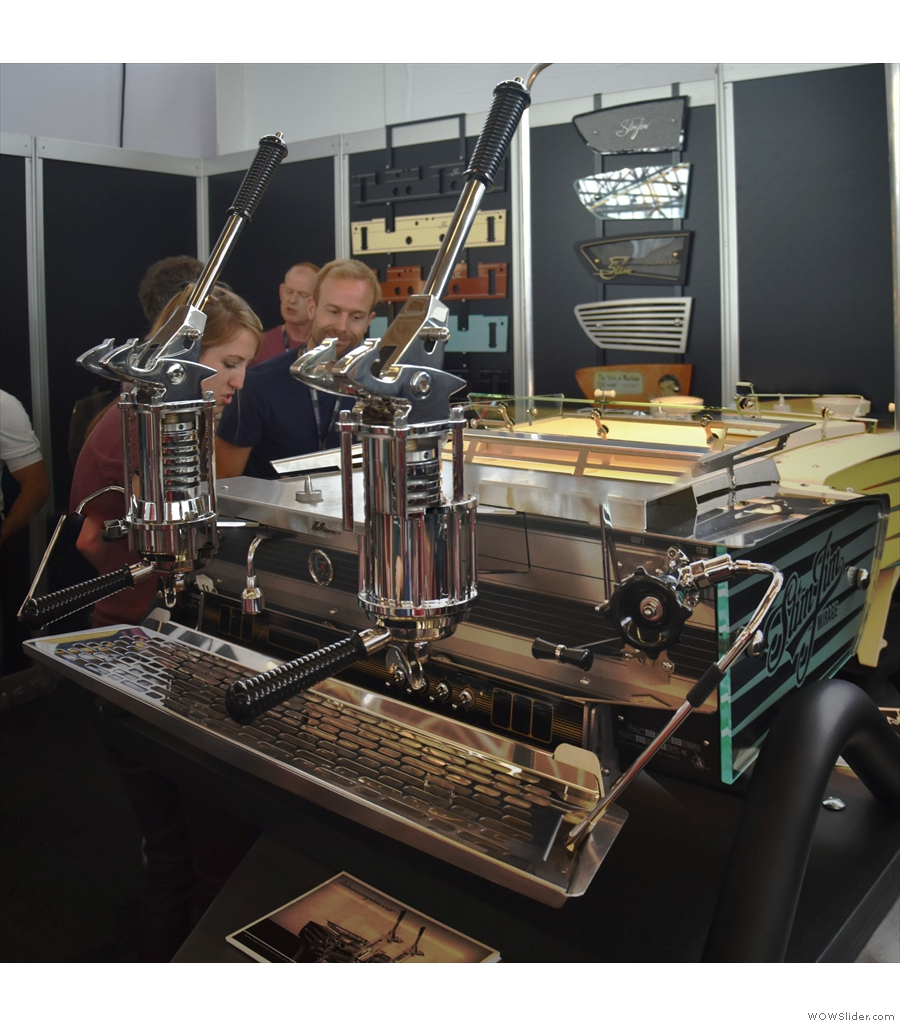 Another coffee festival, this time World of Coffee 2018 in Amsterdam.