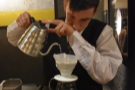 Pour-over at Roscioli Caffe, a wonderful experience in the heart of Rome.