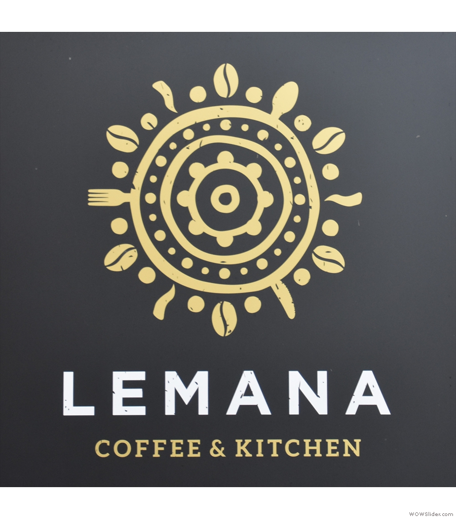 Lemana Coffee & Kitchen, down a side alley with a courtyard and gazebo as well!