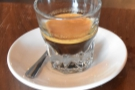 Philadelphia's Peddler Coffee brewed me a gorgeous Brazilian Prima Materia.