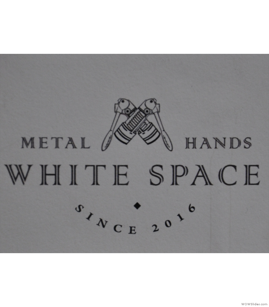 The last of the three Beijing entries is Metal Hands White Space.