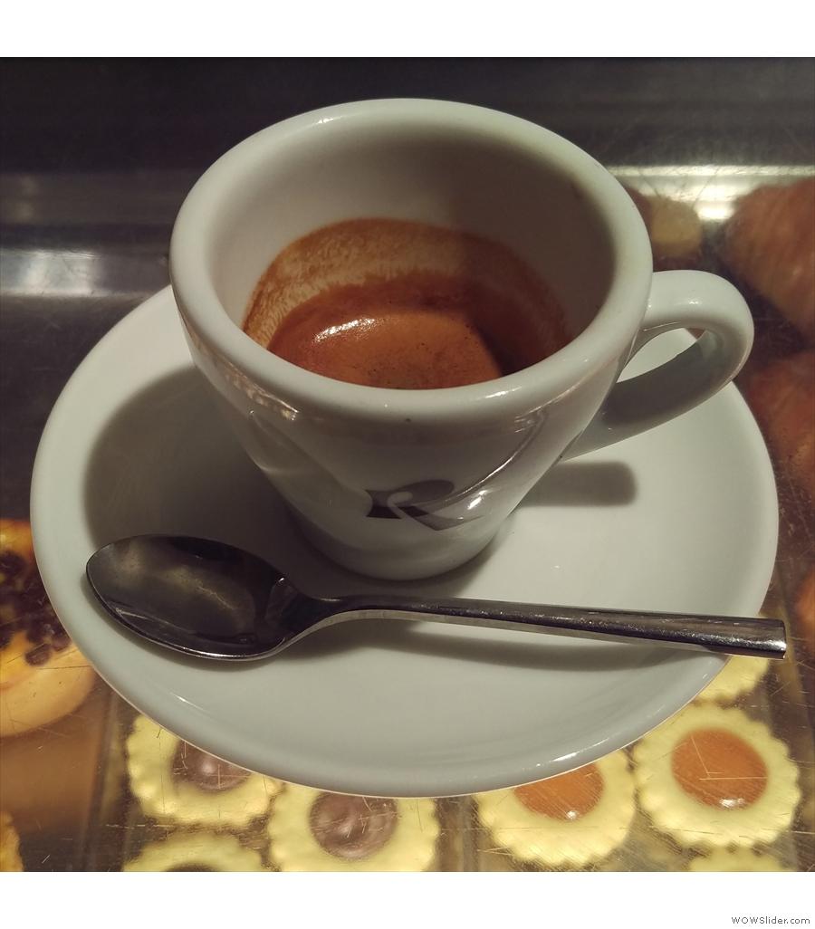 Roscioli Caffe Pasticceria, where my friend Amanda and I sampled a cake or two...