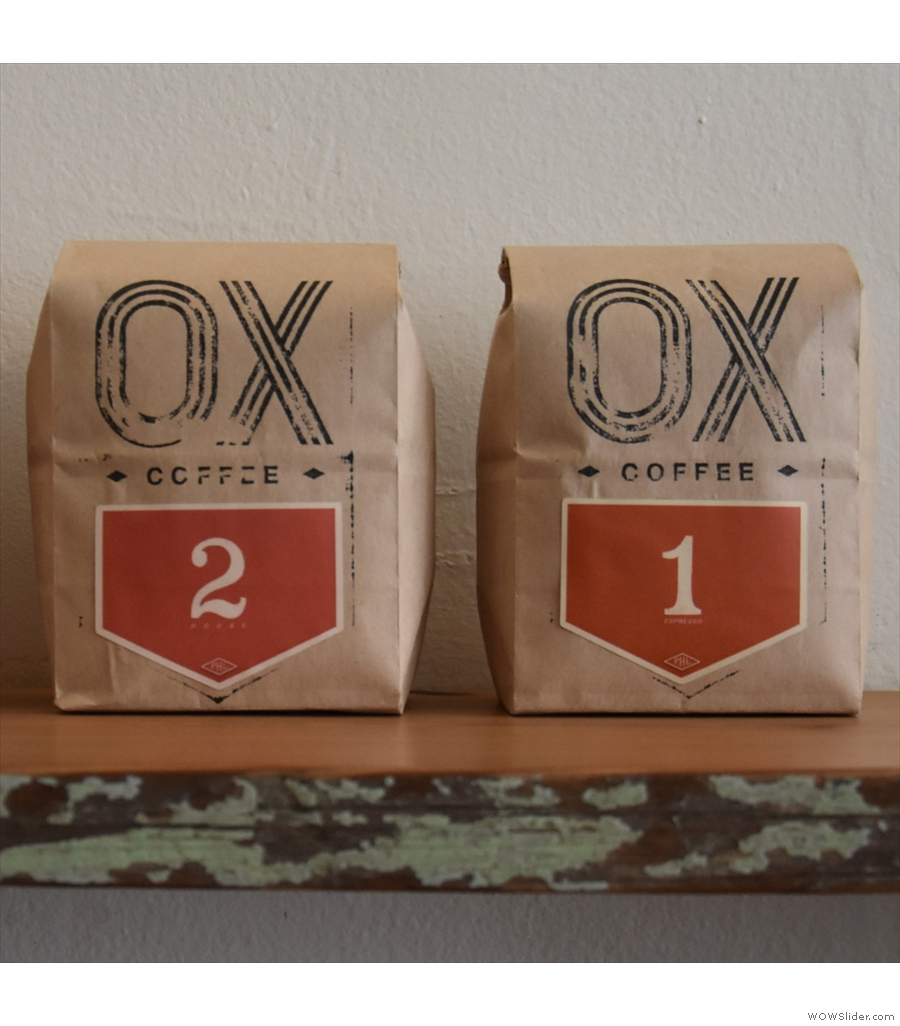 Ox Coffee, a long time favourite in Philadelphia, now roasting its own coffee.