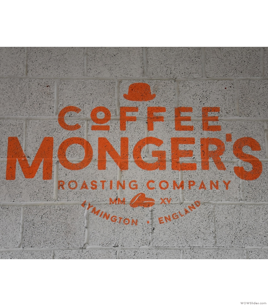 Coffee Monger's Roasting Company, just the second UK entry on this year's shortlist.