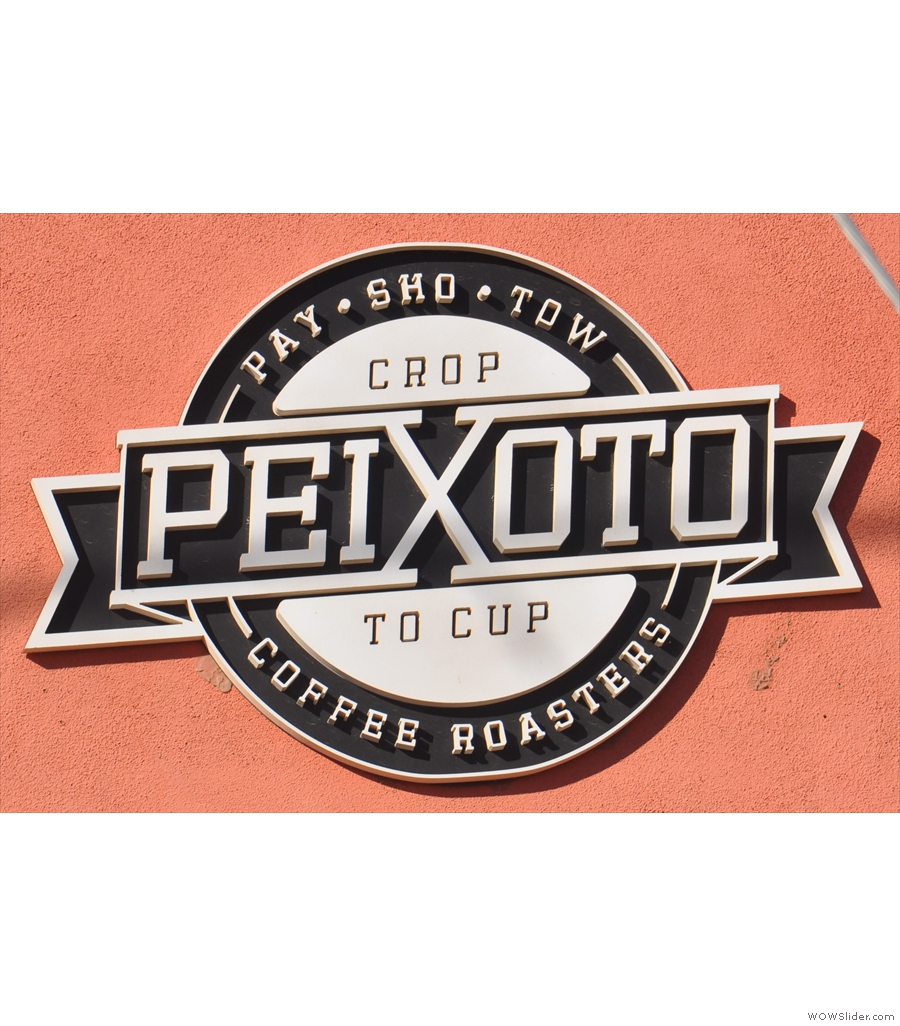 Peixoto, from farm-to-cup in Chandler, Arizona, roasted in the back of the shop.