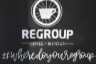 Regroup Coffee + Bicycles, combining speciality coffee and bicycles.