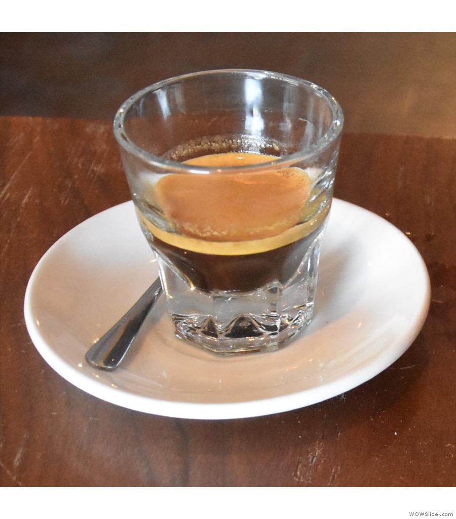 Peddler Coffee, on a sunny corner in Philadelphia.