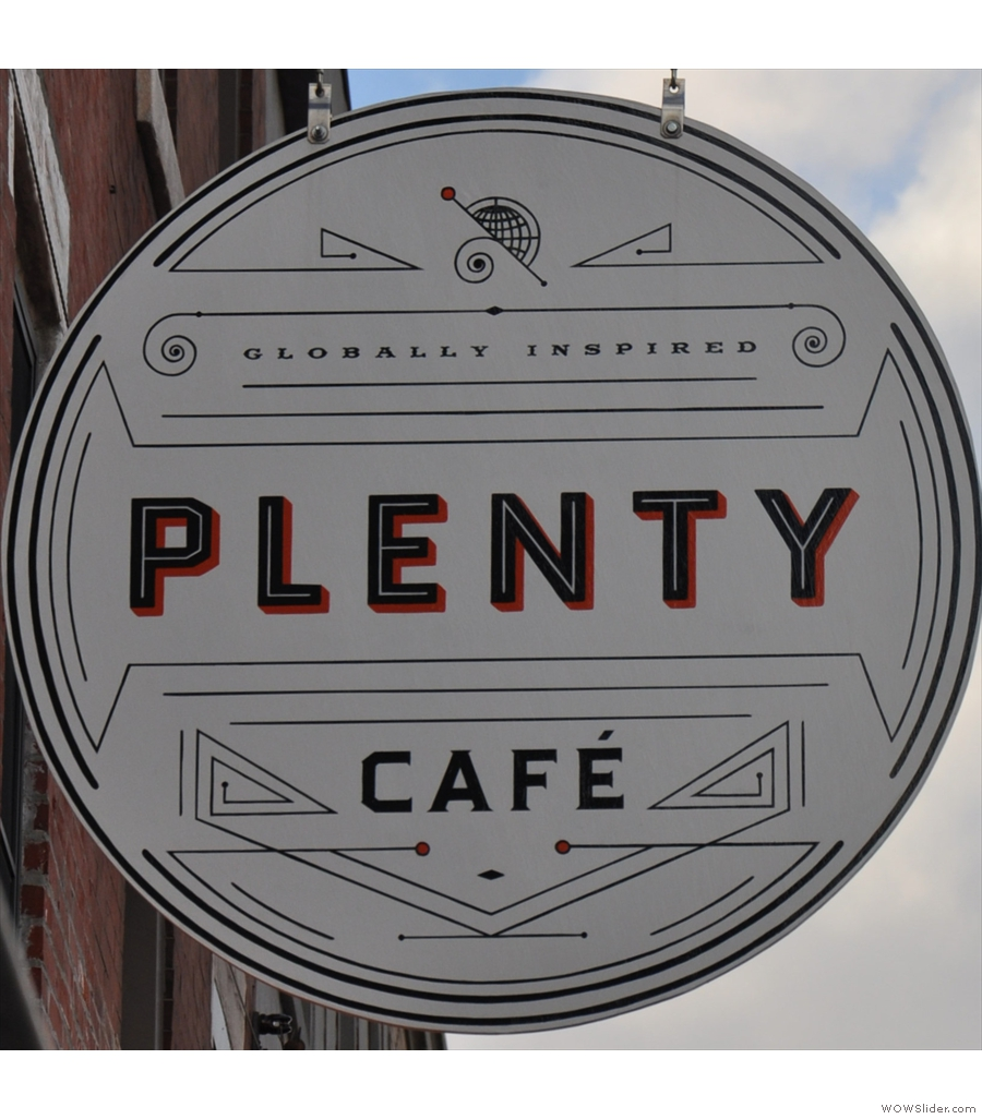 Plenty Cafe, East Passyunk, where I had the perfect French Toast.