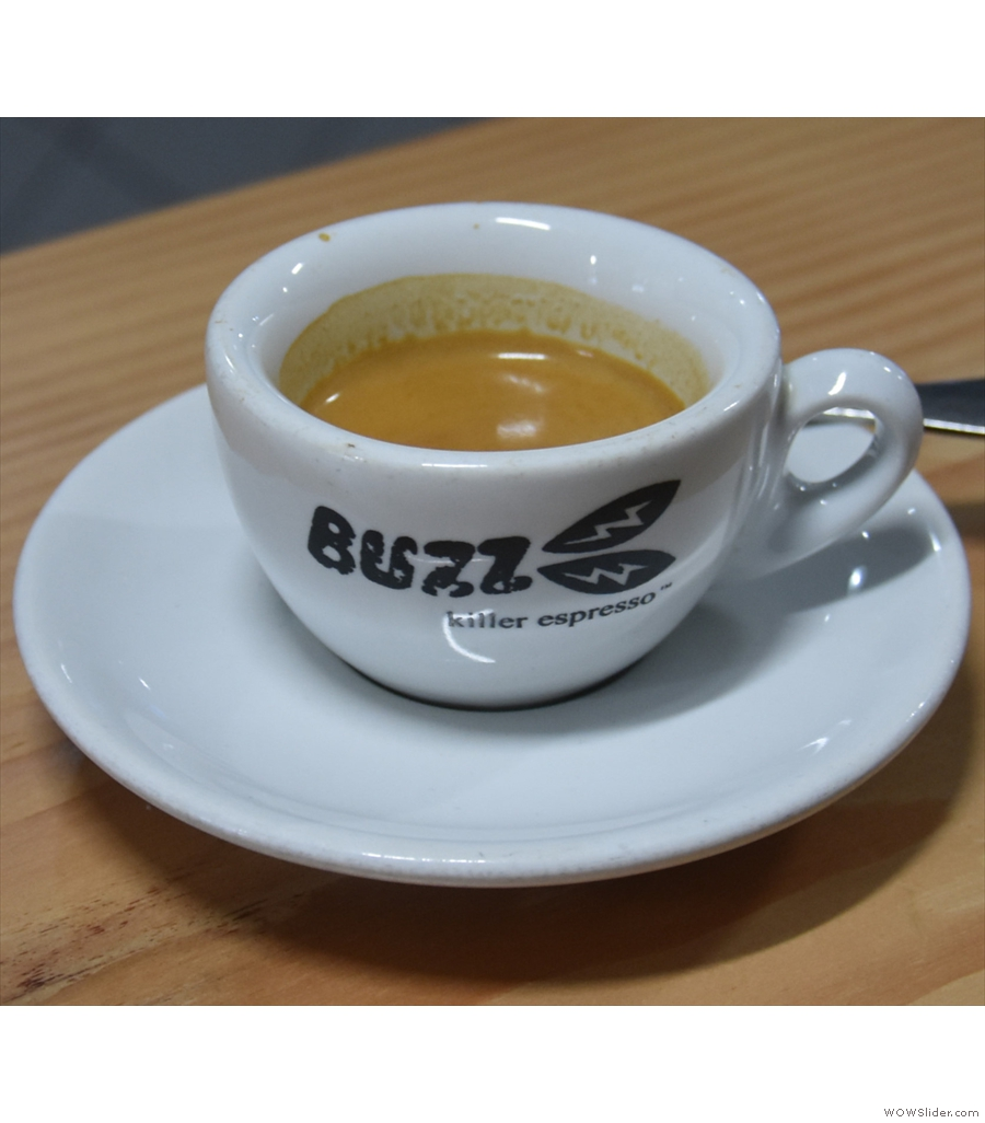 Buzz Coffee Roaster & Baker, a new coffee shop, but the same old passion.