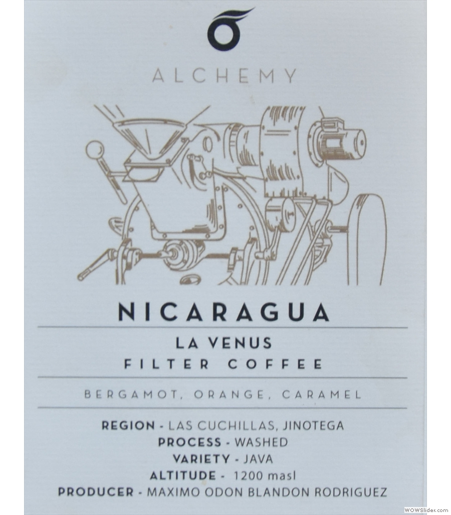 Alchemy Cafe, a stawart of London's speciality coffee scene, quietly doing its own thing.