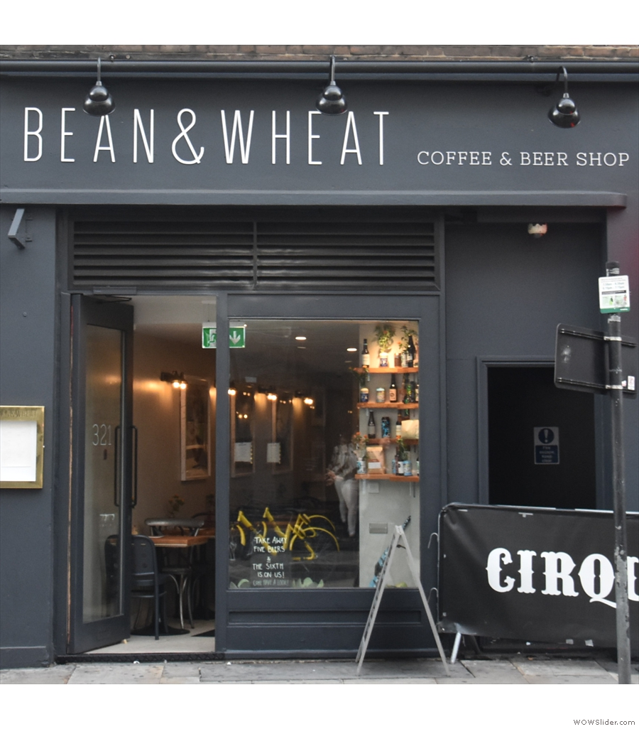 Bean & Wheat, combining coffee, bread & craft beer and eliminating waste, all in one!