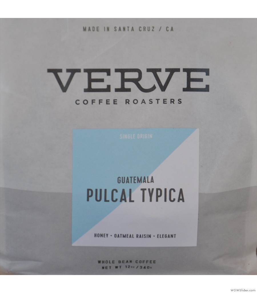 Verve Coffee Roasters, Pacific Avenue, servig up this year's Best Espresso.