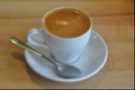 To finish things off, a double cortado in a tulip cup. No latte art, but mighty fine coffee!
