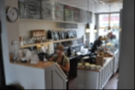 The counter, as seen from the back of the shop...