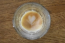 I'll leave you with the awesome lasting power of the latte art in my piccolo.