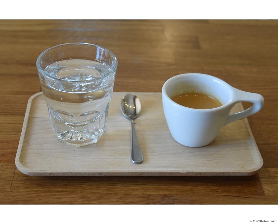 I tried the Kiryama as an espresso...