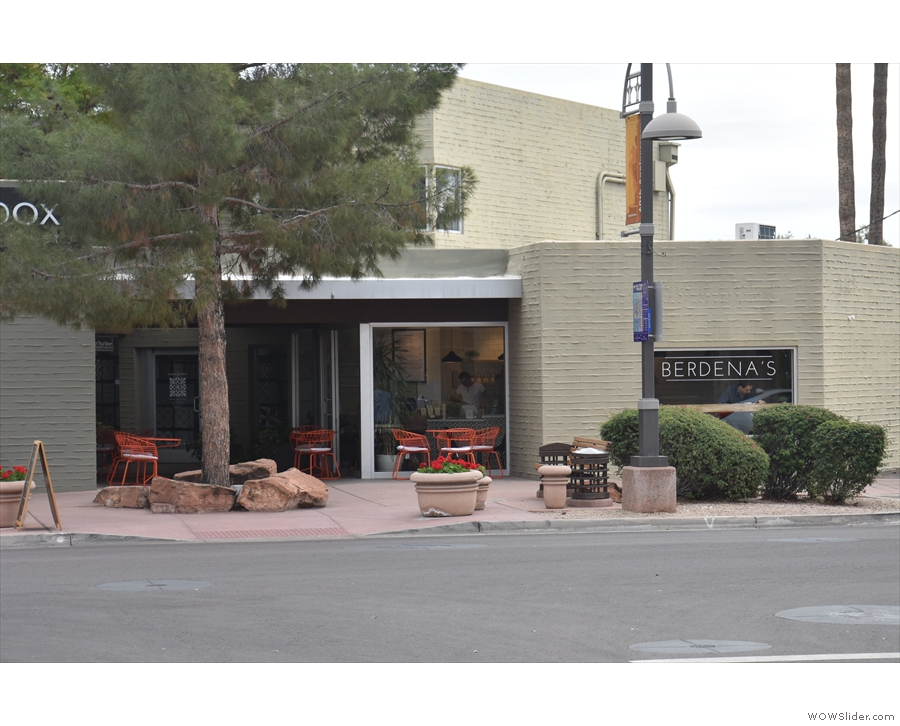Berdena's on Scottsdale's East 5th Avenue.