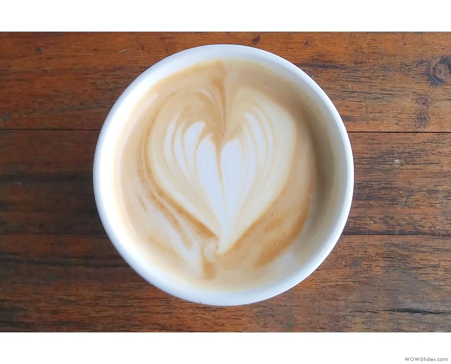 More excellent latte art.