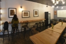 ... and, against the left-hand wall, a seven-person bar.