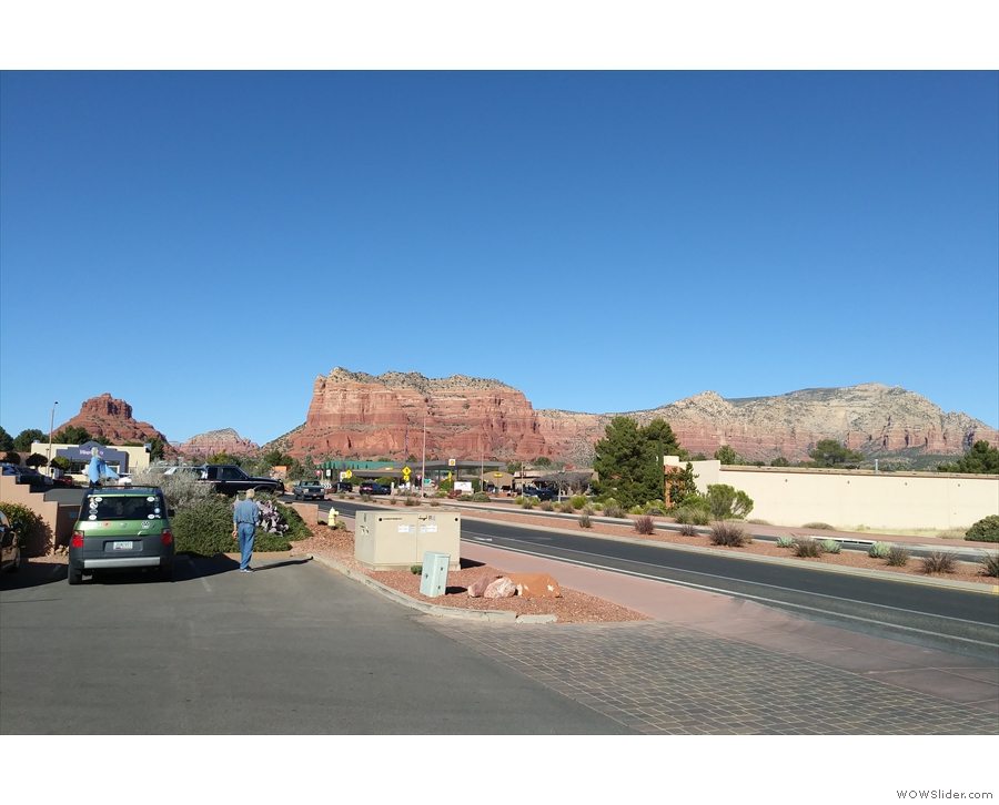 The southern edge of Red Rock Country in all its glory.