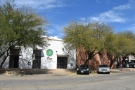 Exo Roast Co. in Tucson, Arizona, seen here looking across 7th Street.
