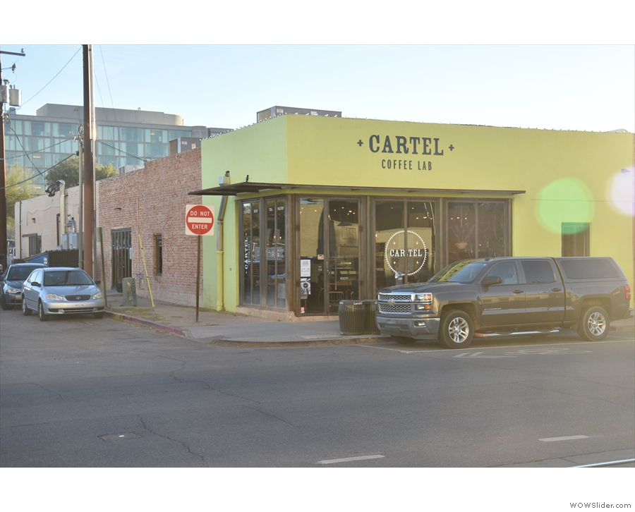 Cartel Coffee Lab on East Broadway Boulevard in downtown Tucson.
