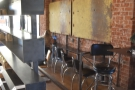 Another view of the bar, as seen from the back.