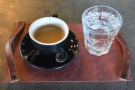 Before reaching the airport I stopped off at Peixoto in Chandler for a swift espresso...