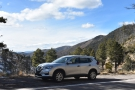 My hire car, a Nissan Rogue, seen here at Emory Pass on Rt 152 in New Mexico. It was...