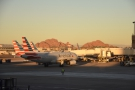 By now, the sun is beginning to set as an A320 from Omaha, Nebraska, lands and...