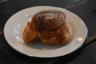 I'll leave you with my cinnamon morning bun, whiich I had at 3:30 in the afternoon!
