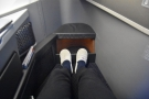 I'm particularly impressed with all the leg room I have!