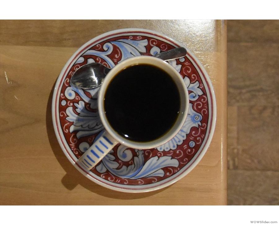 ... the prettiest crockery in the coffee business.